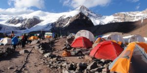 View Camp Plaza de Mulas Trek - Aconcagua